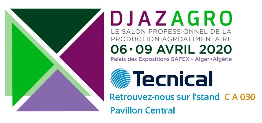Tecnical: An exhibitor at the Djazagro fair 2020